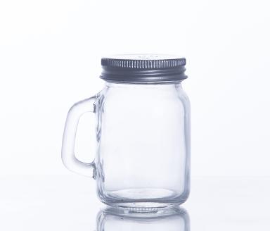 Wide Month Quart Jars with Lids