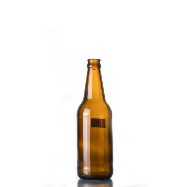 340ml Amber glass beer bottle
