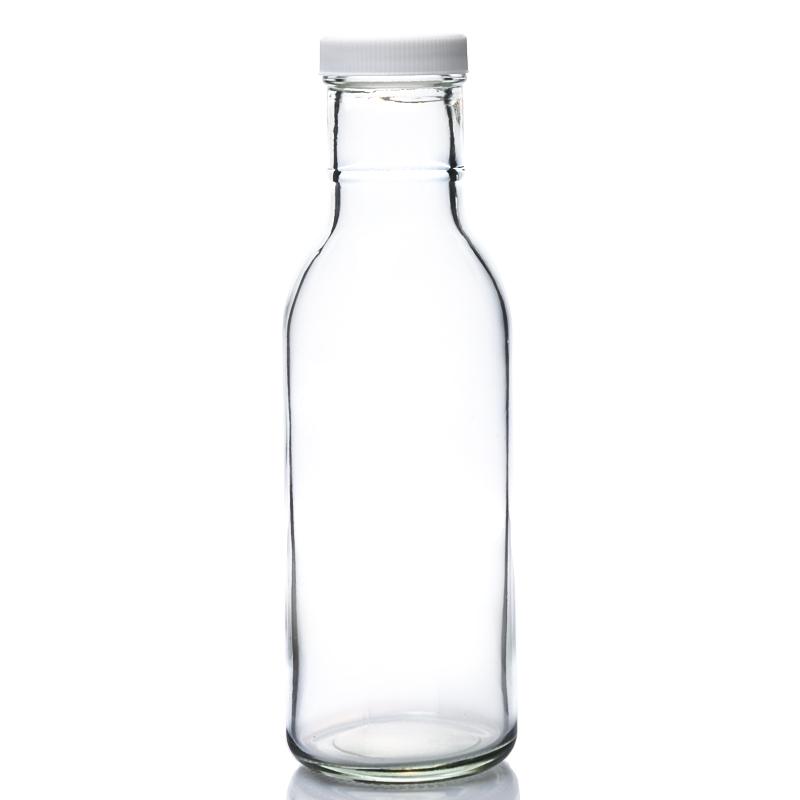 8OZ ringneck BBQ sauce bottle