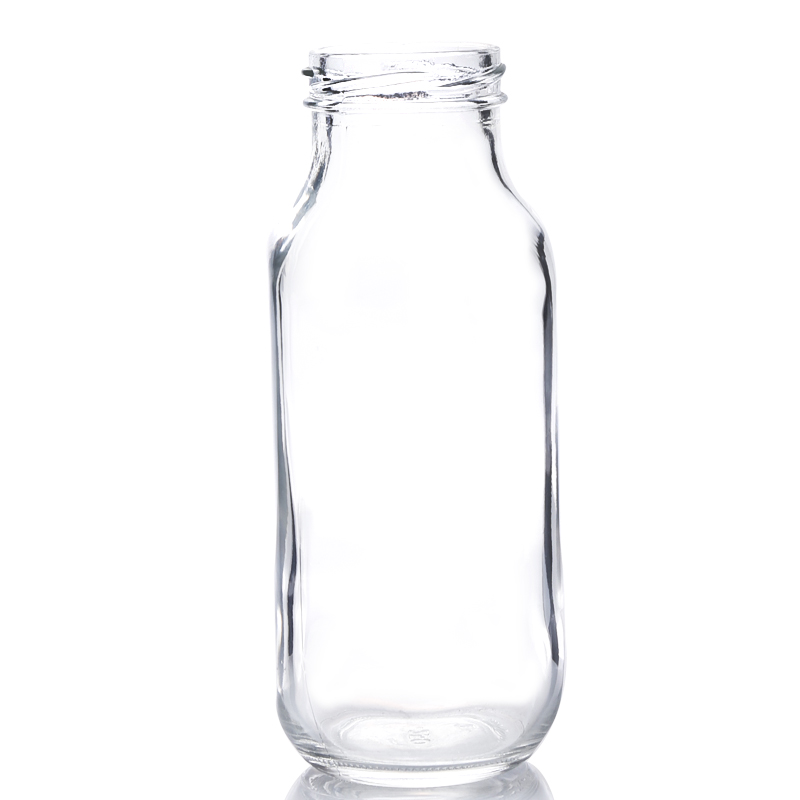 380ML glass beverage square bottle
