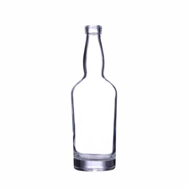 500ml Clear Tennessee Liquor Bottle