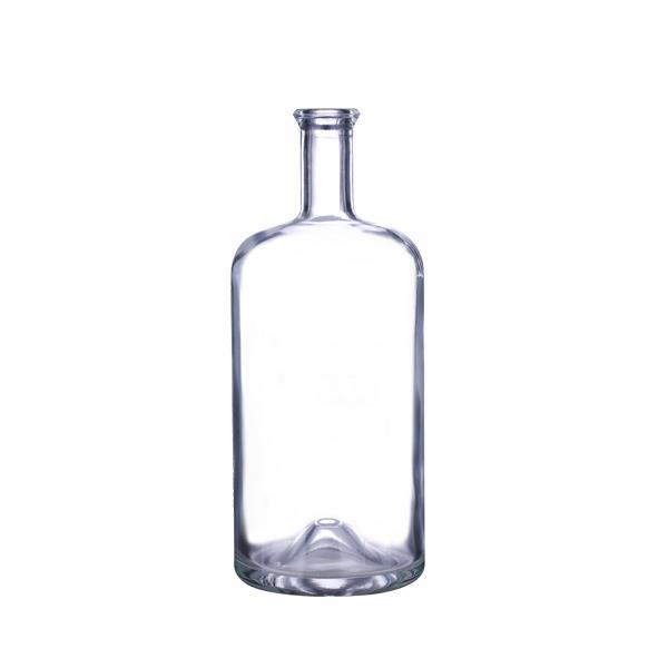375ml Clear Glass Juniper Liquor Bottles