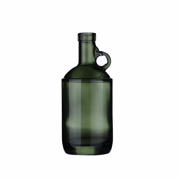 750ml Dark Green Glass Moonshine Liquor Jugs
