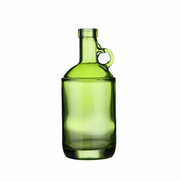 750ml Green Glass Moonshine Liquor Jugs