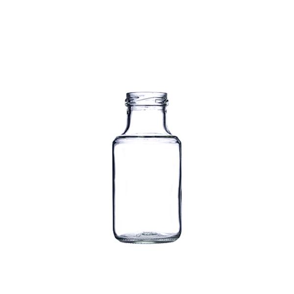 16oz Clear Glass Stout Bottle