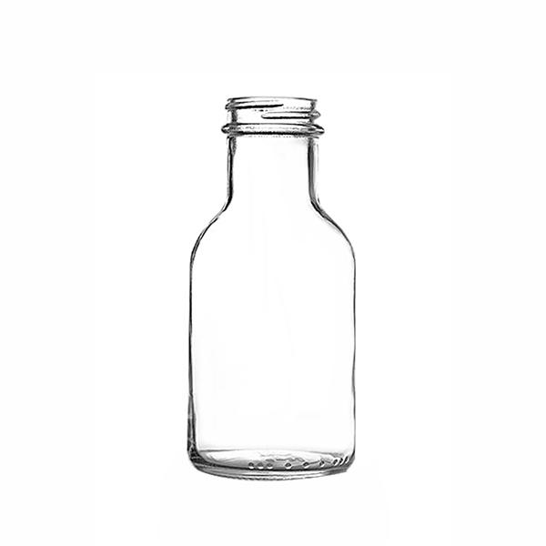 8 oz Glass Stout Bottle 38/400 pk12