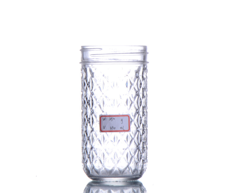 330ml glass mason jar