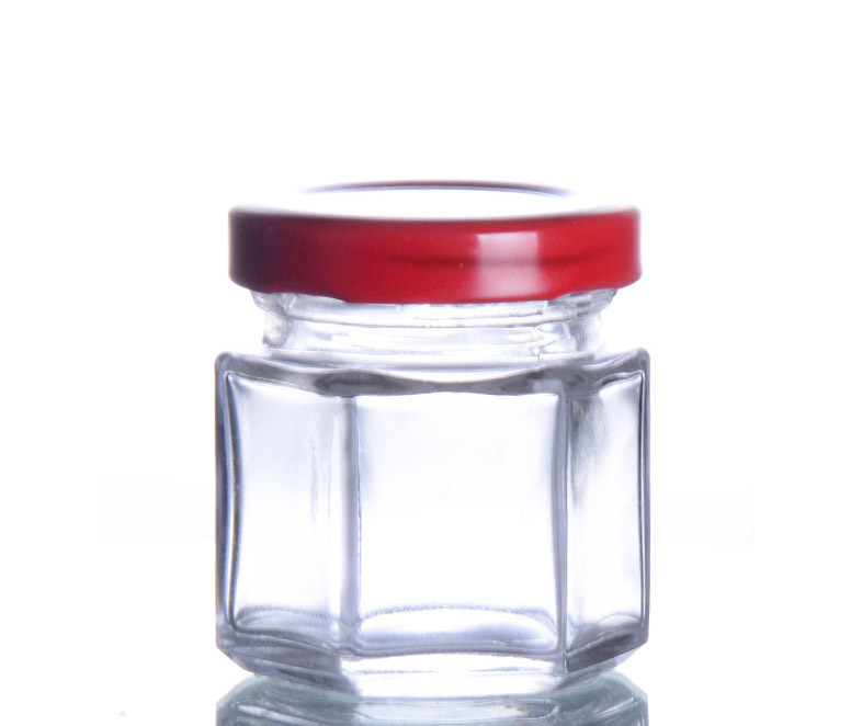 Glass Canning Jar with lid