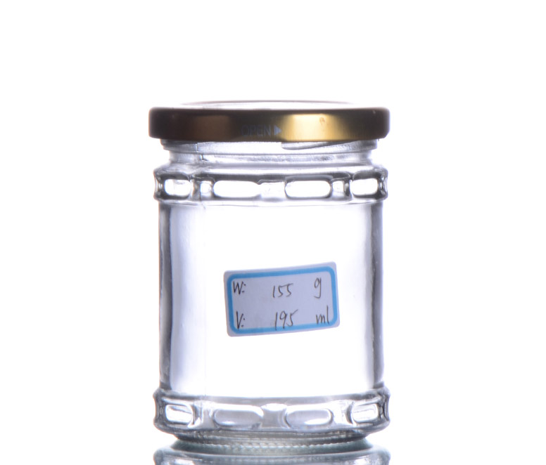 Glass Pickle Jar