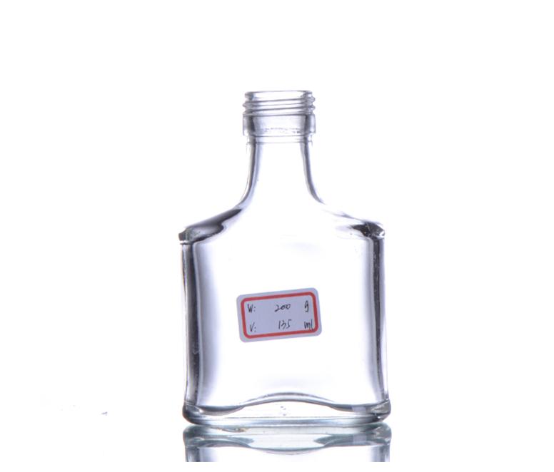 Glass Vodka Bottle