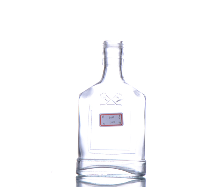 Glass Vodka Bottle