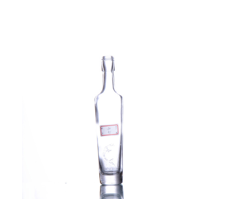 Glass Whisky Bottle