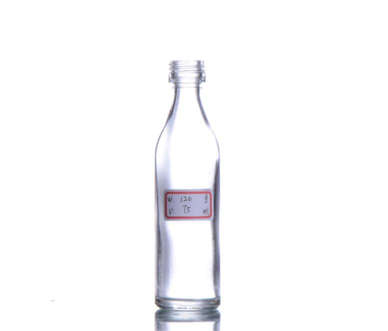 Glass Whisky Bottle