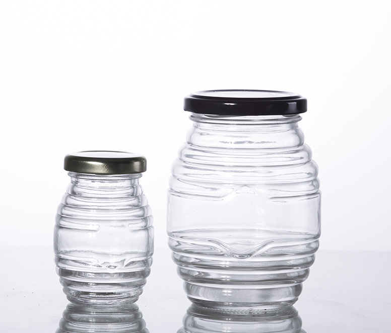 100ML and 500ML  food grade glass honey  jar