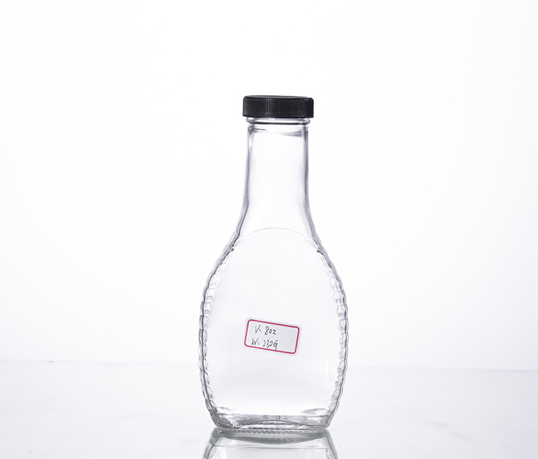 8 oz salad dressing bottle