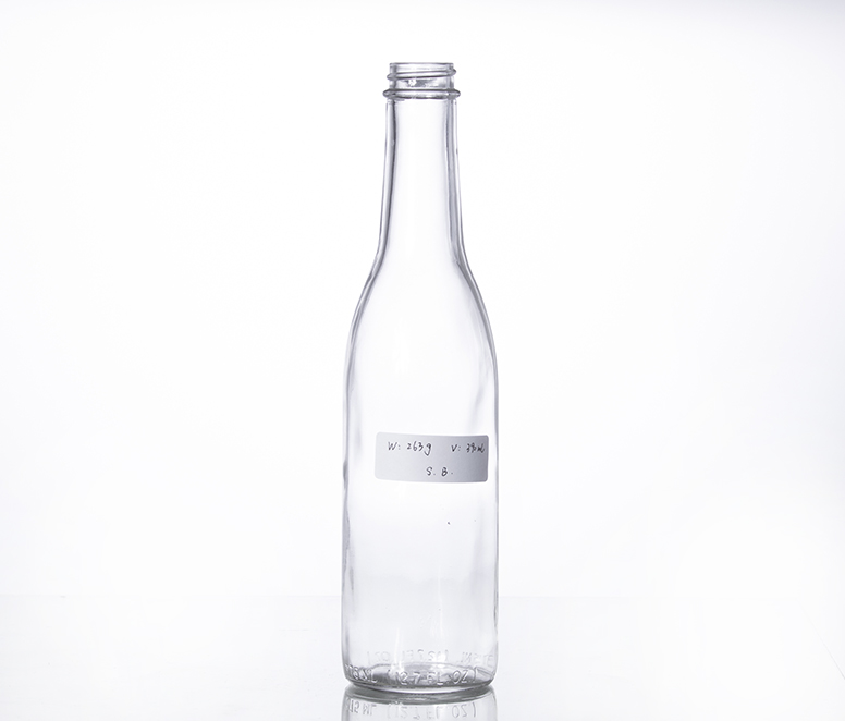 390ml soy sauce glass bottle