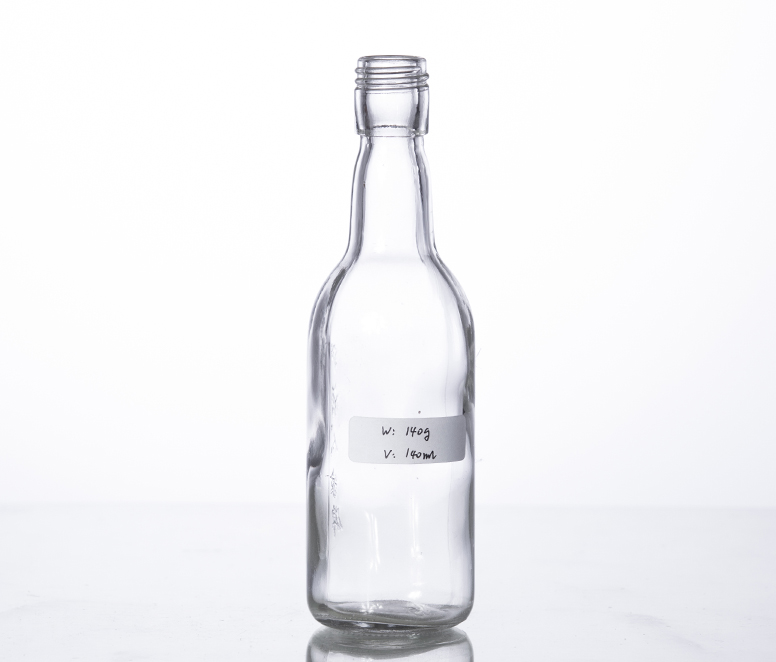 100ML mini glass spirit bottle wine bottle
