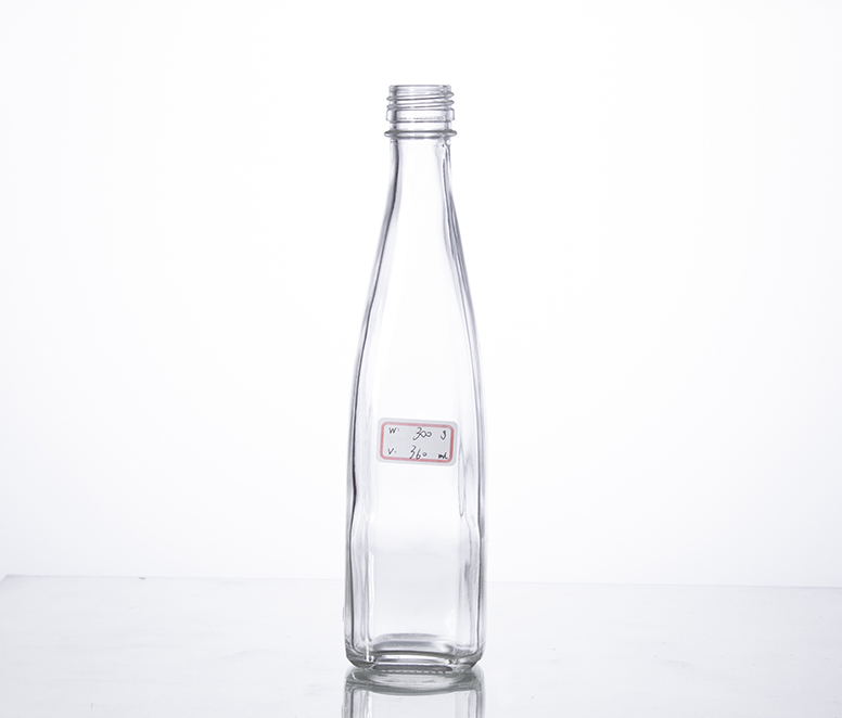 350ml beverage glass bottle with screw cap