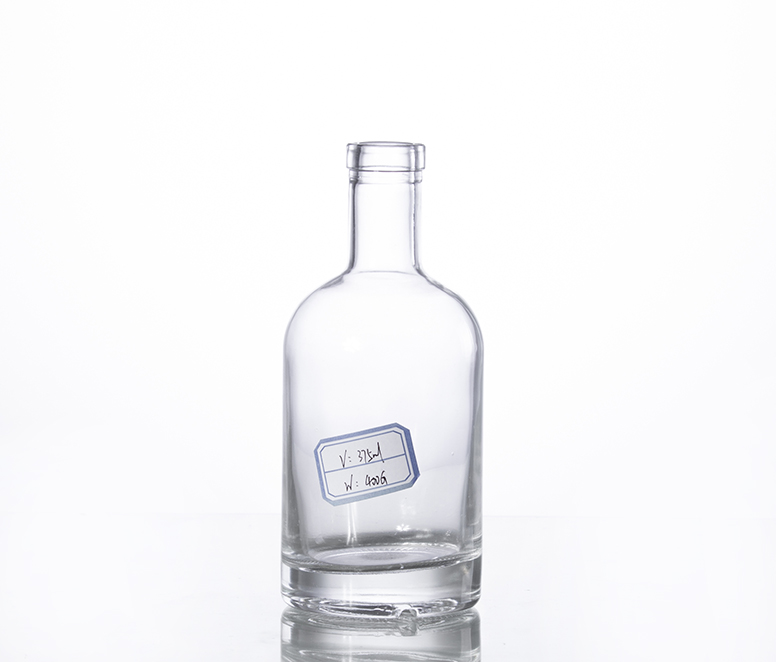 375ML crystal liquor glass  bottle supplier