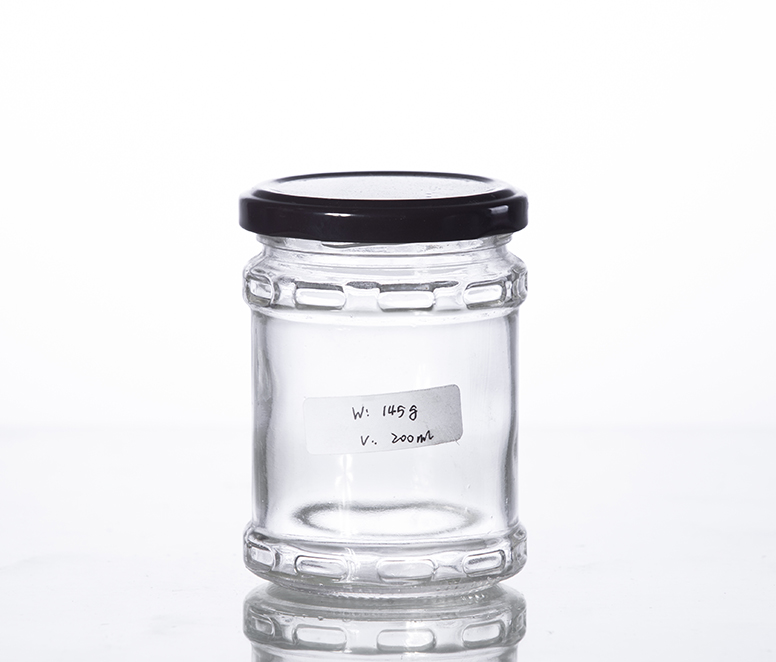 200ML glass pickle jar