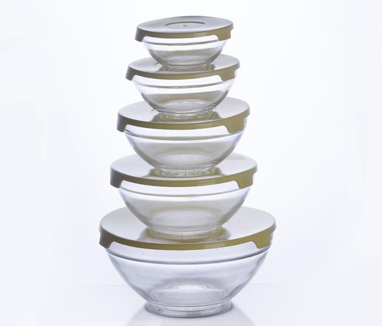 glass salad bowls fruit bowls