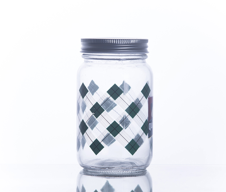 500ml Mason Jar For Holloween Decoration