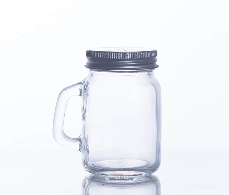 Wide Month Quart Jars with Lids