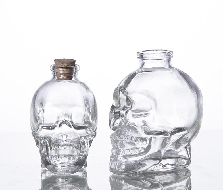 Unique Skull Whisky Decanter