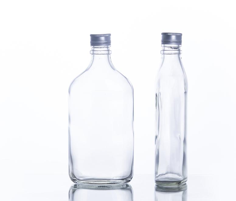 375ml Flask Liquor bottle Spirit Bottle