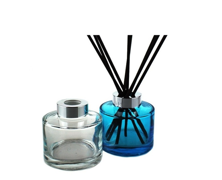 Glass Reed Diffuser Bottle With Alu Cap