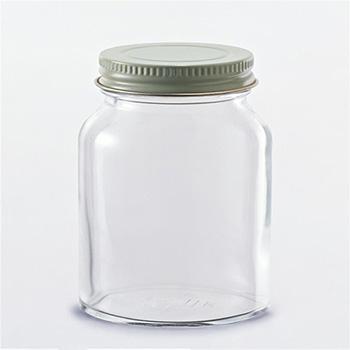 Wide Mouth Round Glass Jar